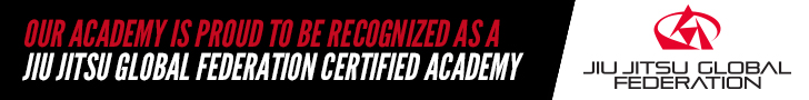 Our academy is proud to be recognized as a Jiu Jitsu Global Federation certified academy